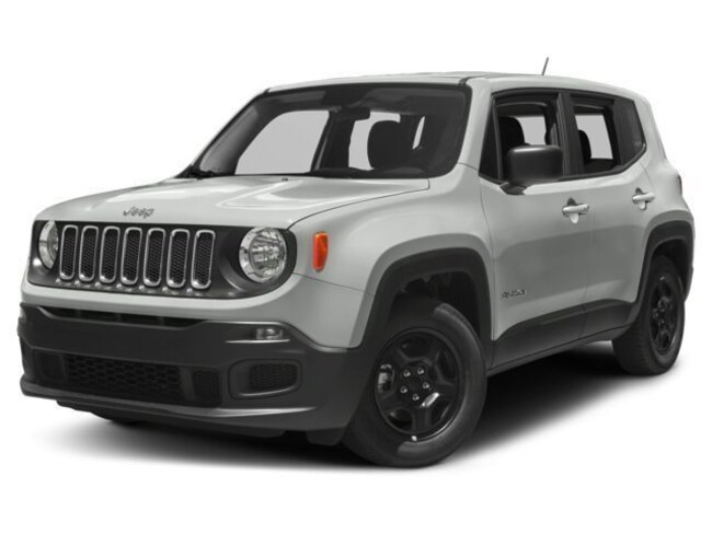 New 2018 Jeep Renegade UPLAND 4X4 Sport Utility in Muskegon, MI