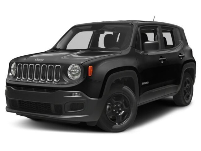 New 2018 Jeep Renegade UPLAND 4X4 Sport Utility in Adrian, MI