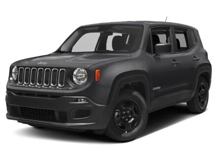 New 2018 Jeep Renegade SPORT 4X4 anvil exterior black interior 0 miles Stock 33338 VIN ZACCJB