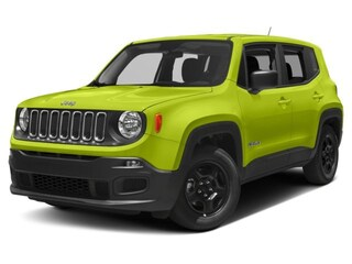 New 2018 Jeep Renegade LATITUDE 4X4 Sport Utility Sandusky OH