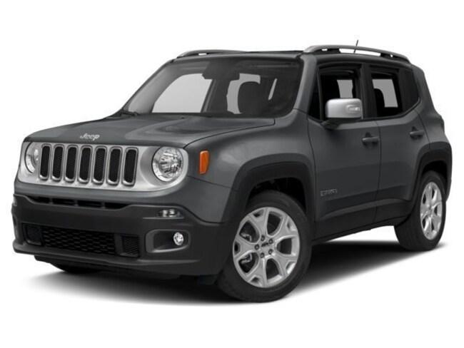New 2018 Jeep Renegade LIMITED 4X4 Sport Utility in Warwick, RI
