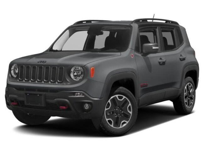New 2018 Jeep Renegade TRAILHAWK 4X4 Sport Utility in LaGrange, IN