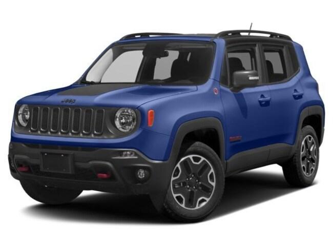 New 2018 Jeep Renegade TRAILHAWK 4X4 Sport Utility Near Fitchburg