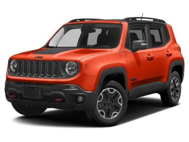 New 2018 Jeep Renegade TRAILHAWK 4X4 Sport Utility Fremont