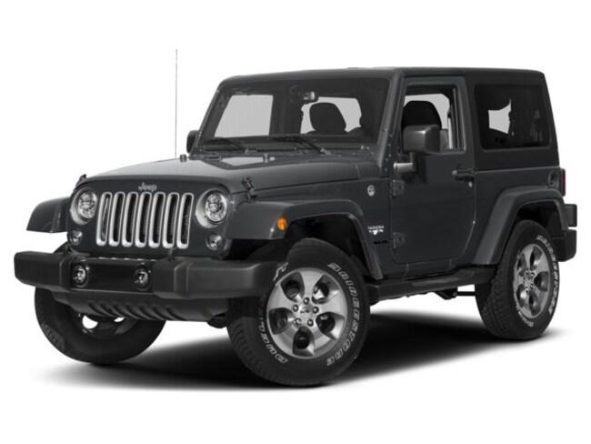 New 2018 Jeep Wrangler JK SAHARA 4X4 Sport Utility Frankfort
