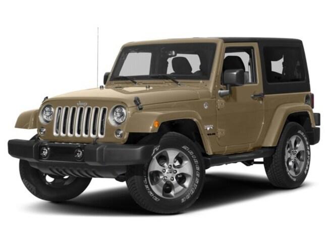 New 2018 Jeep Wrangler JK Sahara 4x4 SUV near Fairfax