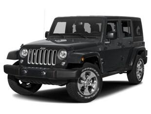 2018 Jeep Wrangler JK Unlimited Sahara 4x4 SUV