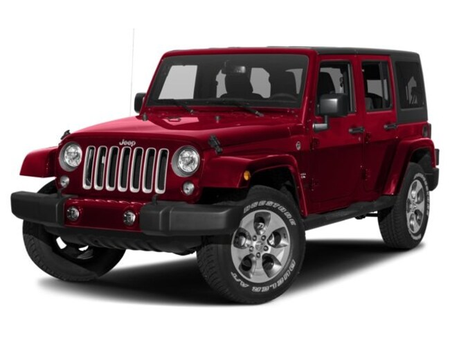 New 2018 Jeep Wrangler JK Unlimited Sahara 4x4 SUV 4x4 Tucson