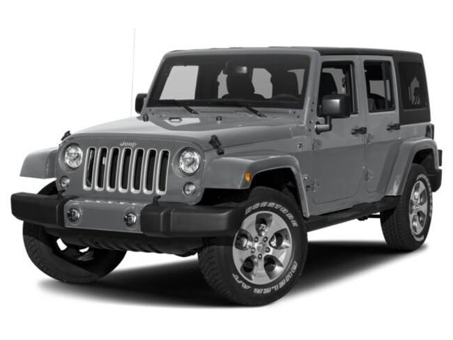 New 2018 Jeep Wrangler JK UNLIMITED SAHARA 4X4 Sport Utility Erie