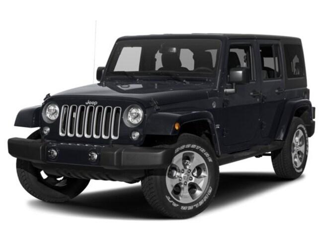 New 2018 Jeep Wrangler JK Unlimited Sahara 4x4 SUV J27015 Woodhaven, MI