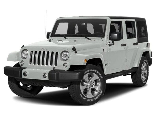 New 2018 Jeep Wrangler JK Unlimited Sahara 4x4 SUV In Charlotte
