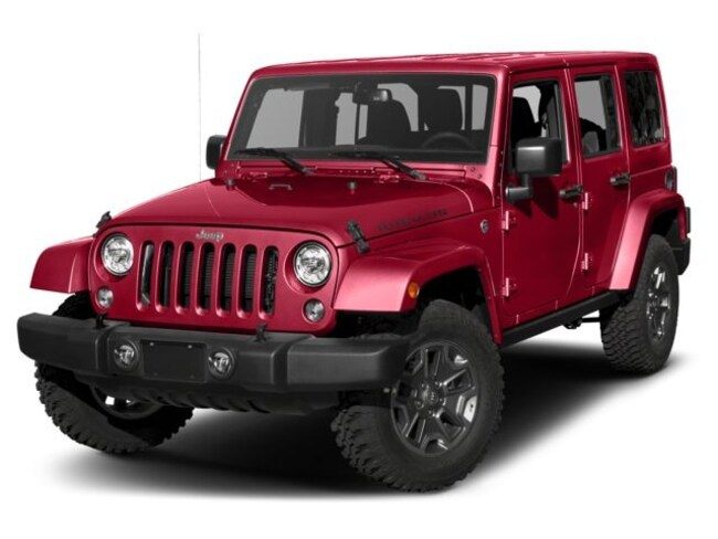 New 2018 Jeep Wrangler JK Unlimited Rubicon 4x4 SUV for sale in Easley, SC