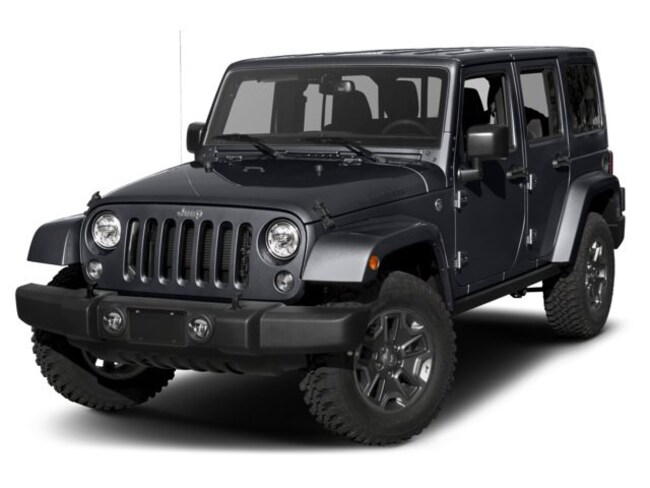 New 2018 Jeep Wrangler Unlimited WRANGLER JK UNLIMITED RUBICON RECON 4X4 Sport Utility Rockville, MD