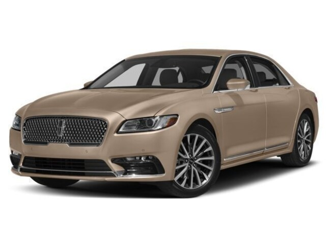 2018 Lincoln Continental Black Label Car
