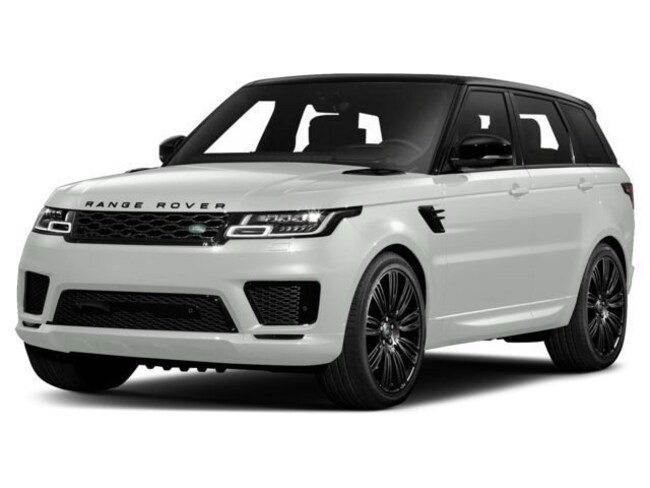 New 2018 Land Rover Range Rover Sport Supercharged SUV in Parsippany