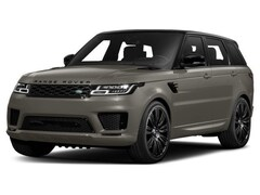 2018 Land Rover Range Rover Sport 5.0 Supercharged V8 Supercharged
