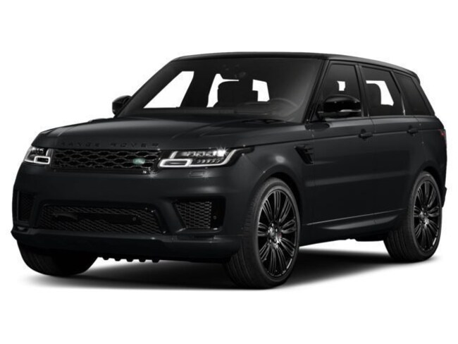 New 2018 Land Rover Range Rover Sport SVR SUV in Bedford, NH