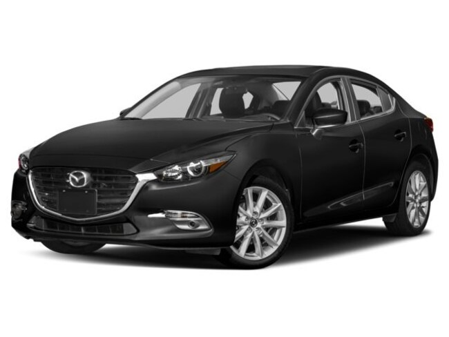 New Mazda vehicle 2018 Mazda Mazda3 4-Door Grand Touring Car for sale near you in Ann Arbor, MI