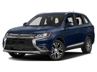 New 2018 Mitsubishi Outlander ES CUV Amarillo