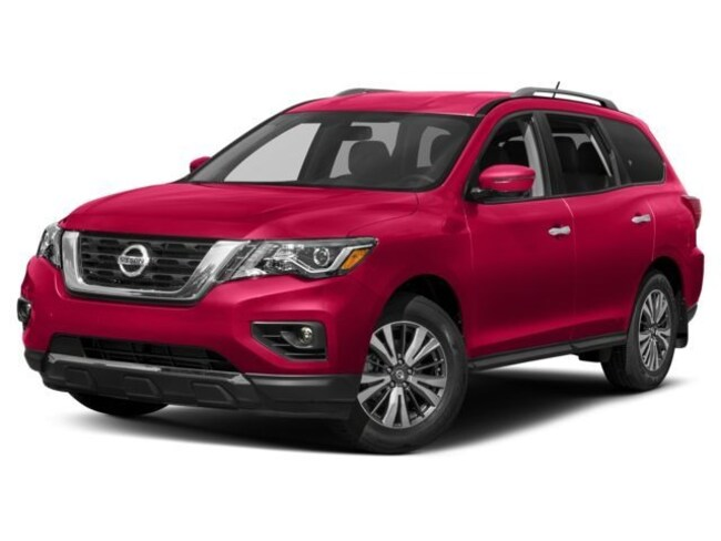 New 2018 Nissan Pathfinder SV SUV in Cortland