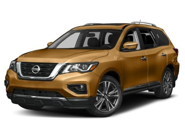 New 2018 Nissan Pathfinder Platinum SUV