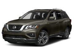 New 2018 Nissan Pathfinder Platinum SUV 5N1DR2MM8JC632286 in Altoona, PA