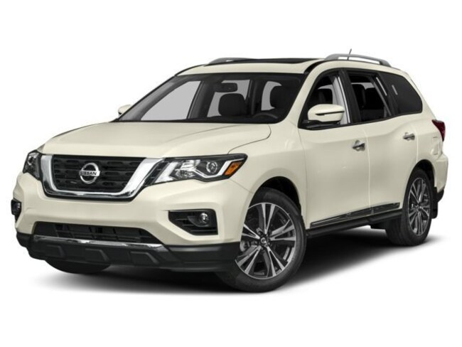 New 2018 Nissan Pathfinder Platinum SUV in Rochester, NY