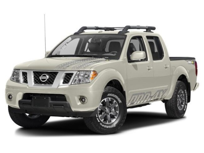 2018 Nissan Frontier Crew Cab 4x4 PRO-4X Auto Truck