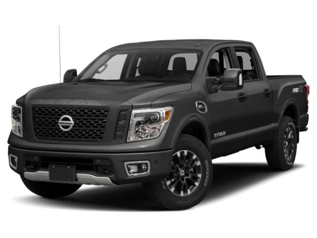 New Nissan 2018 Nissan Titan PRO-4X Truck Crew Cab for sale in Denver, CO