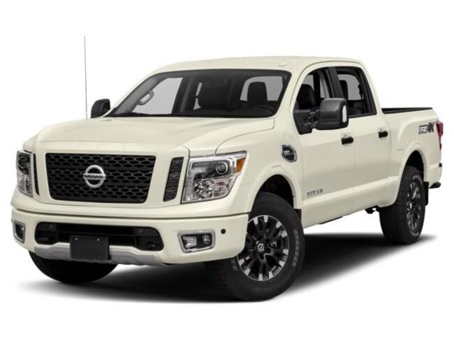 2018 Nissan Titan PRO-4X Truck Crew Cab [G01, PRM, -K11, K04, K03, -Z66, X03, B92, X02, Z66, B94, SG2, FOG-O, E10, CN4, G-1, K11, G-3, K13, MON, QAB, UT3, -K13, MD1] For Sale in Swazey, NH