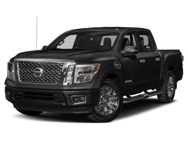 2018 Nissan Titan Platinum Reserve Truck Crew Cab [X03, B92, K04, K03, SG2] For Sale in Swazey, NH