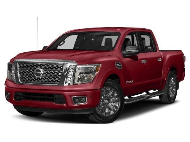 2018 Nissan Titan Platinum Reserve Truck Crew Cab
