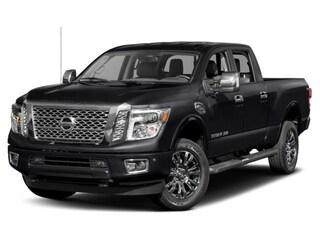 2018 Nissan Titan XD 4x4 Diesel Crew Cab Platinum Reserve Truck Crew Cab