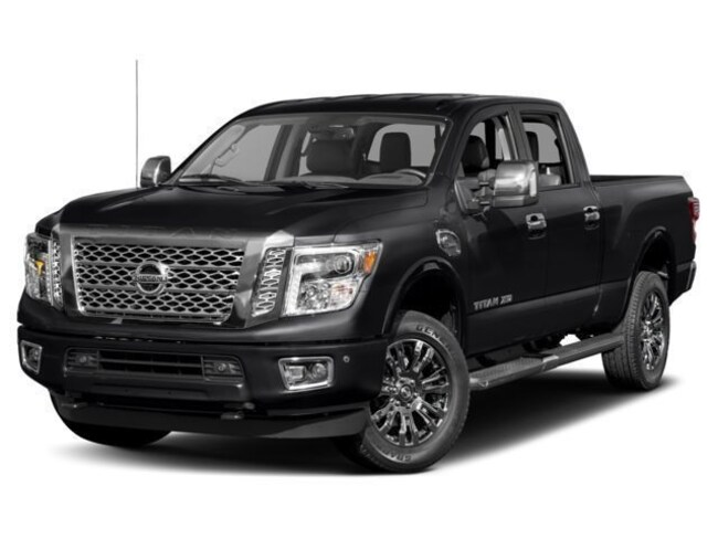 2018 Nissan Titan XD Platinum Reserve Truck