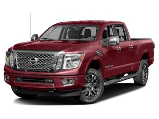 New 2018 Nissan Titan XD Platinum Reserve Gas Truck Crew Cab 1N6AA1F4XJN519687 for sale in Saint James, NY at Smithtown Nissan