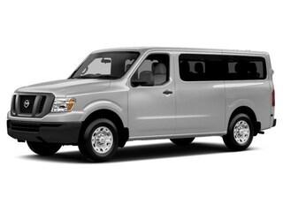 New 2018 Nissan NV Passenger NV3500 HD SL V8 Van Passenger Van 5BZAF0AA0JN850824 for sale in Saint James, NY at Smithtown Nissan