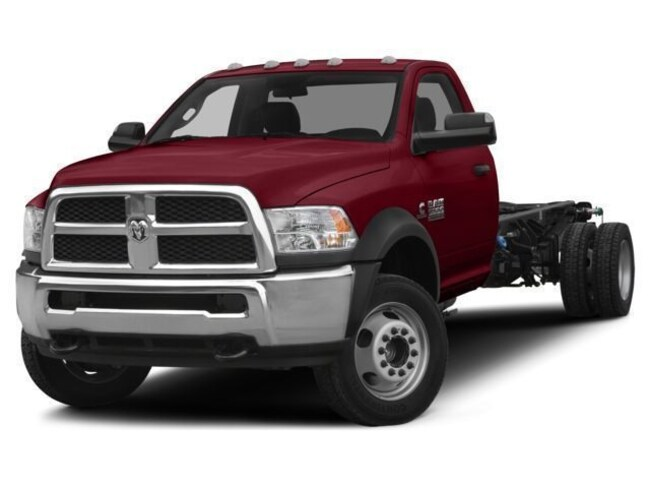 2018 Ram 3500 TRADESMAN CHASSIS REGULAR CAB 4X4 143.5 WB Regular Cab