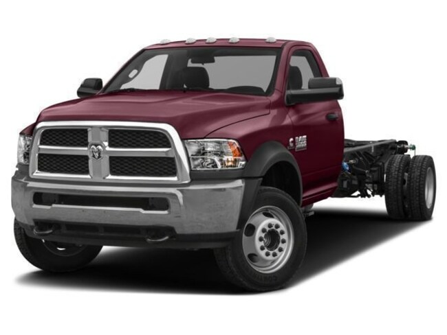 2018 Ram 4500 TRADESMAN CHASSIS REGULAR CAB 4X4 204.5 WB Regular Cab