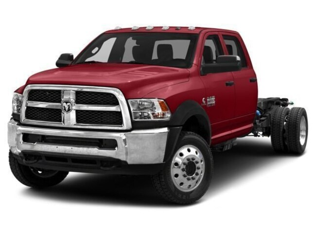 New 2018 Ram 4500 Chassis Tradesman 60CA Crew Cab in Kernersville, Greensboro, Winston-Salem and High Point Area