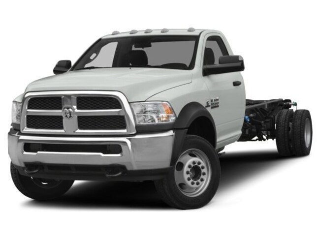2018 Ram 5500 TRADESMAN CHASSIS REGULAR CAB 4X4 204.5 WB Regular Cab