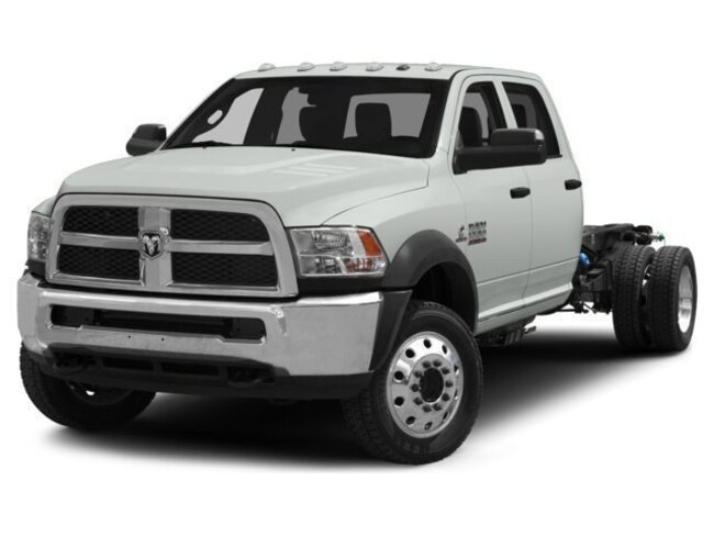New 2018 Ram 5500 TRADESMAN CHASSIS CREW CAB 4X4 173.4 WB Crew Cab for sale in Knoxville, TN at Jim Cogdill Dodge Chrysler Jeep Ram