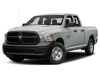 New 2018 Ram 1500 EXPRESS QUAD CAB 4X4 6'4 BOX Quad Cab 1C6RR7FT4JS328851 For sale near York PA