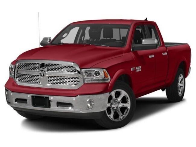 New 2018 Ram 1500 LARAMIE QUAD CAB 4X4 6'4 BOX Quad Cab Morrison, IL