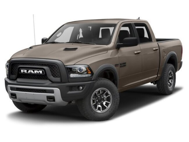 2018 Ram 1500 REBEL CREW CAB 4X4 5'7 BOX Crew Cab