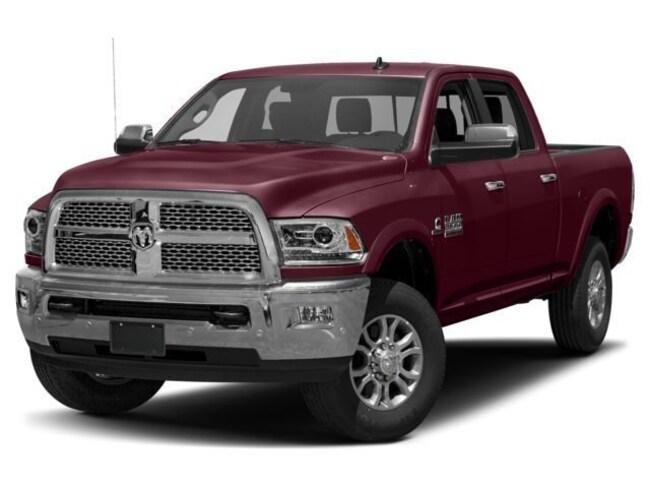 2018 Ram 3500 Laramie 4x4 Crew Cab 64 Box w/PLOW Truck Crew Cab