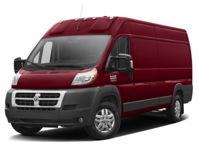 New 2018 Ram ProMaster 3500 CARGO VAN HIGH ROOF 159 WB EXT Extended Cargo Van for sale in Skokie, IL at Sherman Dodge Chrysler Jeep RAM ProMaster