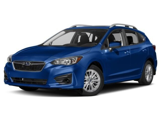 New 2018 Subaru Impreza 2.0i Premium 5dr with EyeSight, Blind Spot Detection & Starlink Sedan Branford CT