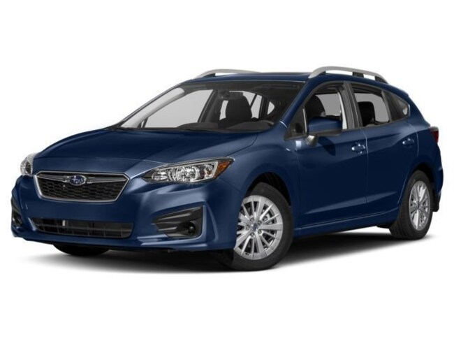 New 2018 Subaru Impreza 2.0i Premium with EyeSight, Blind Spot Detection, Moonroof & Starlink 5-door 4S3GTAD6XJ3721517 for sale near Greenville, SC
