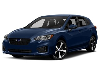 New 2018 Subaru Impreza 2.0i Sport with Moonroof, Blind Spot Detection & Starlink 5-door 4S3GTAL60J1702987 for sale in the Chicago area