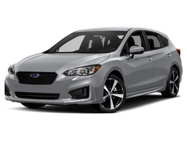New 2018 Subaru Impreza 2.0i Sport with EyeSight, Moonroof, Blind Spot Detection & Starlink 5-door Hazleton, PA